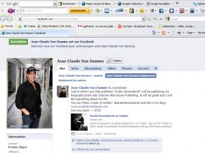 Jean-Claude Van Damme Facebook