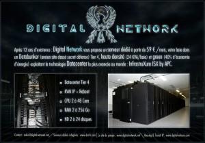 Digital Network, serveurs dédiés, housing, transit ip et datacenter.