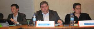 Conférence sur la cybercriminalité avec Barnea Hassid, Consul Général d'Israel, Avi Shavit, chef du département de recherche sur la sécurité intérieure et Bruno Doucende, directeur général de Synertic